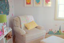 quartos de bebê e criança