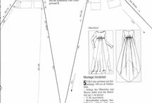 dress patterns / dress