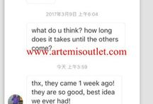 artemisoutlet / Excellent Feedback from Customers.  www.artemisoutlet.cn