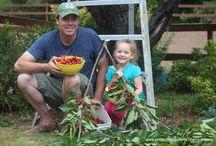 Gardens with Children / we love interacting with our children and grandchildren in the garden