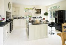 Taking centre stage / This stunning family kitchen, which was created for a new-build and only had two walls to work with, meant that the island unit was poised to take centre stage.