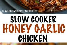 Slow cooker foods