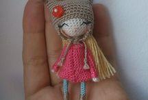 Muñecas / Muñecas a crochet