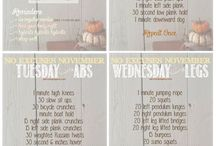 November Challenges / 21 Day Fix adjusted for hormonal cycle!