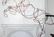Wire sculptere