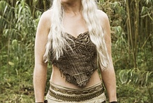 Halloween inspiration / This Halloween I'm dressing up as Khaleesi. Collecting ideas for our Halloween parties and future Halloween outfits.