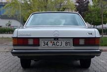 MY CAR / Thats my car. Mercedes-Benz E Klasse. 1985. 230E. W123. 136PS. Autimatic gearbox. Perfect condition. 4 window automatic. 4 door have an automatic kompressor system. Have Bundt (Barock) wheels. Full injection engine. If you drive you can understand this car's (Benz's) comfort and power. Traveling like a ship on the way. There is not joke and I'm not joking to you actually. This is everything true my said.