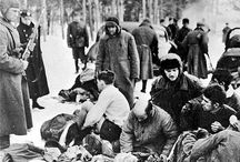 """Ivan Kyrilovich / Ivan Kyrilovich is falsely mistaken for a Jew and lined up with 34,000 other men, women, and children who are to be shot at the edge of Babi Yar, the """"killing ditch"""". He survived, but not without devastating consequences. #RiverNovel Available June 27, 2016"""