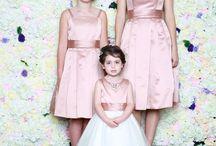 Bridesmaid sets / Adult, Teen and Flower girl bridesmaid sets.