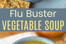 Flu/cold tips and recipes