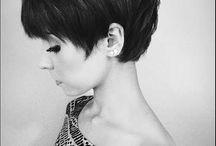 gamine hair
