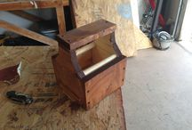 My Woodworking Projects / Just some project I did in my garage.  / by Aaron Finkelstein
