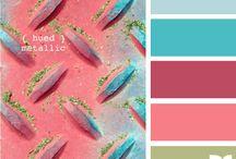 metal color palette / by Dializ arts
