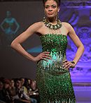 Lourdes Atencio Couture Modewoche NYC Herbst/Winter 2013