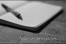 Futuros proyectos... / Próximos proyectos terminados o en proceso que aún no están publicados. Y de los cuales compartiré algunas imágenes que reflejen momentos de las historias <3