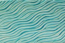Textured Subway tile / 3x6 inch Subway tile that also have special  3d texture which makes them much more interesting
