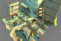 Backgrounds / Архитектурные сооружения