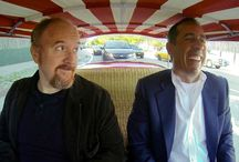 Seinfeld 1959 Fiat 600 Jolly / Comedians share a laugh while riding in doorless Italian beach car  Comedian Jerry Seinfeld kicked off the third season of his award-winning web series Comedians in Cars Getting Coffee in fine style thanks to the appearance of a rare, odd Italian gem of a car.  In the premiere episode, Seinfeld picks up fellow comedian Louis C.K. in an impossibly small 1959 Fiat 600 Jolly. It's. doorless orange beach car now at CHMC.