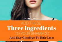 Hair DIY shampoo for thin hair