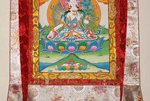 Original Nepalese Buddhist Thangkas