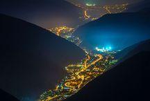 światła miast