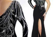 Společenské šaty - černá