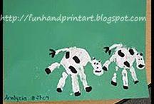 Preschool Crafts--Farm animals / by Debbie Eudy