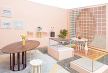 Color Watch: Millennial Pink / The millennial pink color trend is far reaching. From interiors to fashion and everything in between the MP color trend is the color trend to watch for 2018 interiors, textiles, fashion, and home decor. Color trend 2017, SS17, AW17, FW17, interior trend, interior design.