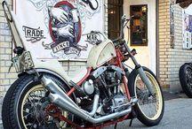 Motorcycle Old School
