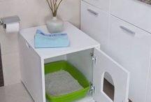 猫のトイレカバー