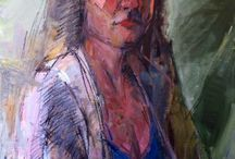 Art Model Shannon Kringen / pictures of drawings/paintings/etchings of me