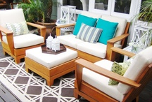 Outdoor deck / by Jackie B