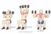 Упражнения | Плечи