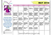 S/L Better Speech and Hearing Month / by Joy Glick