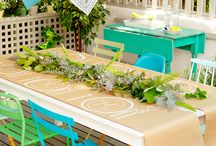 Space: Outdoor Party Ideas / Rent an outdoor space? Summer outdoor party ideas!