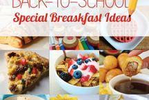Kindergarten meal / Breakfast and school
