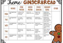 December- Gingerbread Man & Christmas