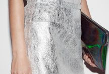 Silver Fashion Inspiration / Some silver style ideas to help you rock the metallic trend.