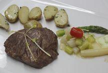 Genussmenü / Ausschließlich Hotelgäste kommen in den Genuss von frisch zubereitete Gerichten. Ausgezeichnet mit dem AMA Gastrosiegel.