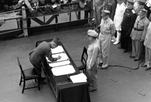 Vintage: World War II Scenes / Famous scenes from World War II