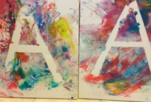 Famous Artist - W.d. Kooning / Art projects based on Kooning's work