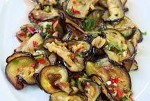 Food-Aubergine+Zucchini
