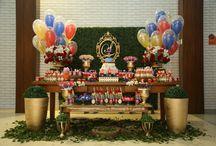 Festa Peppa Pig / Decoração de festa temática da Peppa Pig, a personagem favorita de desenho animado das crianças de 0 a 8 anos!  - Amamos a porquinha da Discovery Kids! - Festa de aniversário de 2 anos no Espaço Florescer Eventos, buffet infantil lúdico na Zona Leste de São Paulo.