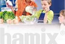 "Bamix / For decades we were forced to say: ""bamix® can do everything except slice and grate"". Now, after three years of intensive development and extensive testing, the new ""SliceSy®"" does all this work perfectly. Moreover, the new attachment is easy to handle and easy to clean: the typical bamix advantages. This new attachment is certainly a milestone in the history of bamix®."