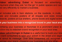 Outdoor advertising in Dubai works for franchisees and small businesses