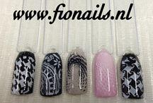 Stamping Nail art by Fionails