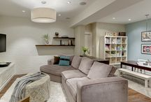 Home Love - Basements / The best of basement design and organization ideas.