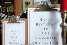 90th birthday parties