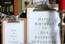 90th birthday parties