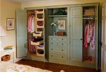 Girls bedroom cupboards